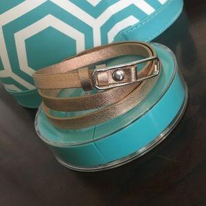 Origami Owl Leather Bracelet